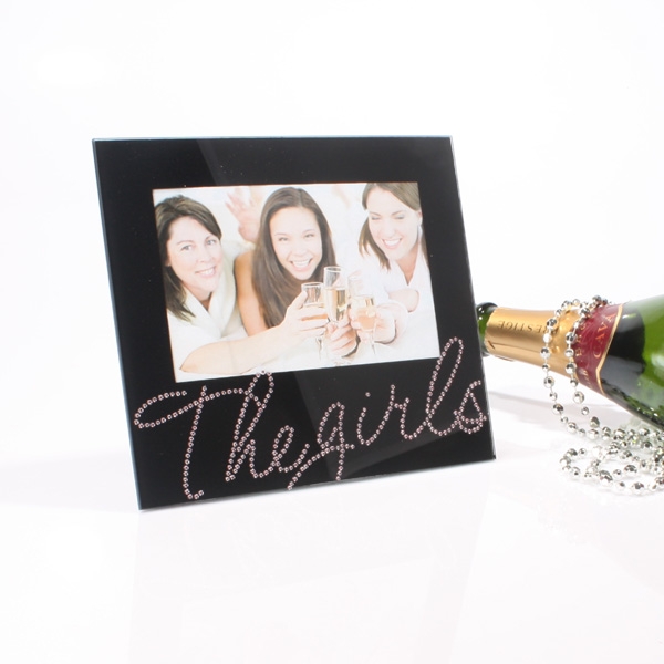 Black Crystals Frame - The Girls - Girls Gifts