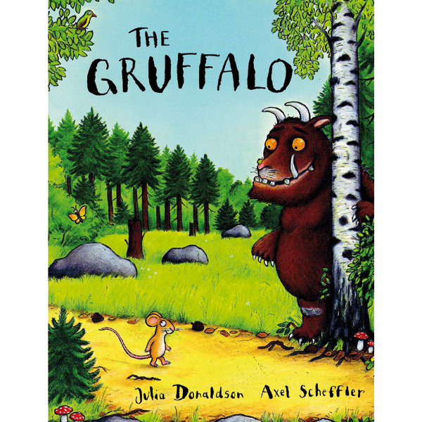 The Gruffalo Paperback Book