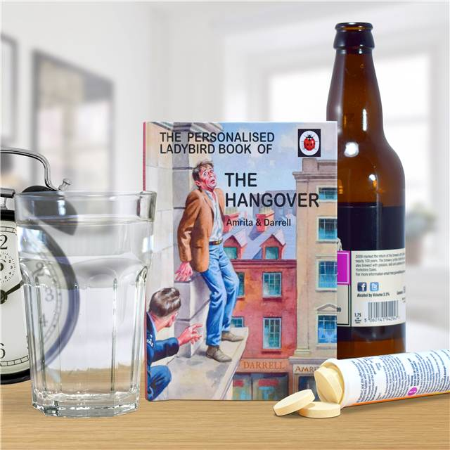 Personalised Ladybird Books For Adults - The Hangover The Hangover for Her - Books Gifts