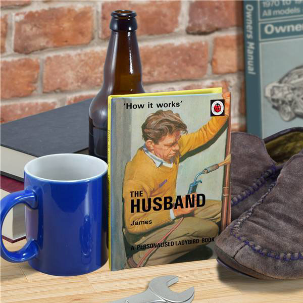 Personalised Ladybird Books For Adults - The Husband - Books Gifts