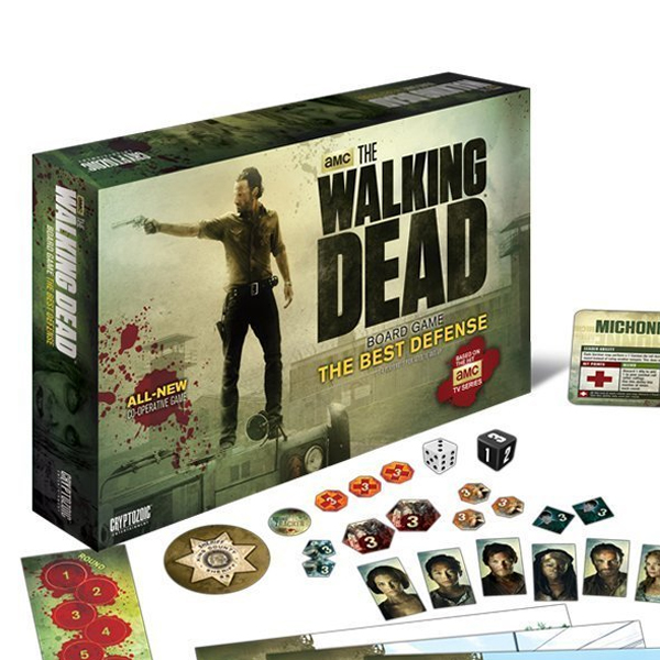 The Walking Dead - The Best Defense Board Game - Board Game Gifts