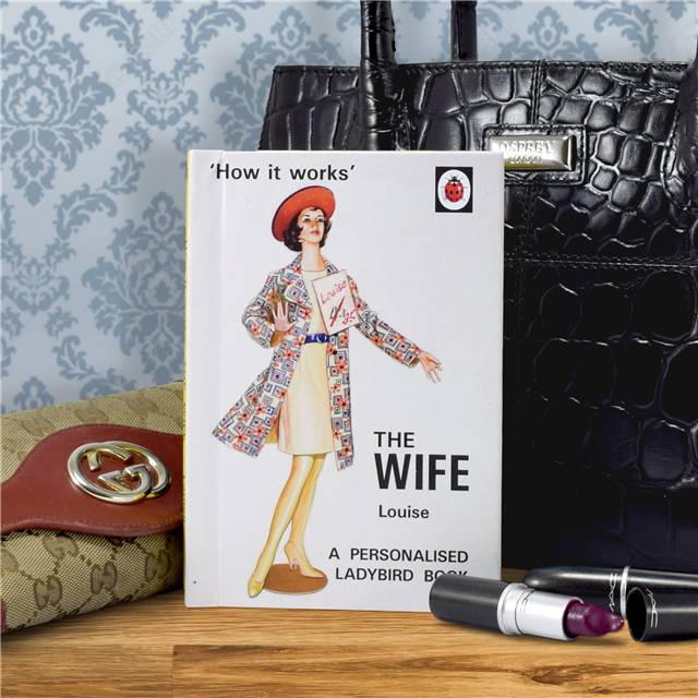 Personalised Ladybird Books For Adults - The Wife - Books Gifts