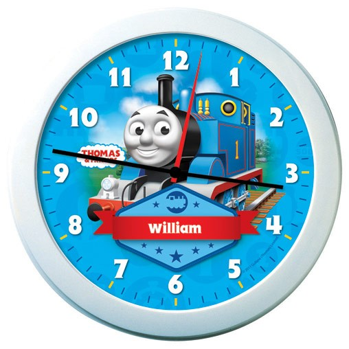 Thomas The Tank Engine Personalised Clock