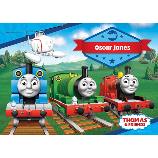 Thomas The Tank Engine Personalised Placemat