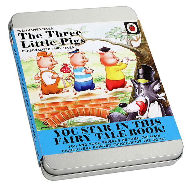 The Three Little Pigs Personalised Fairytale - Pigs Gifts