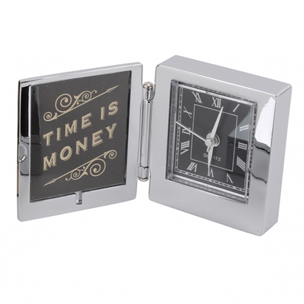 Dapper Chap 'Time Is Money' Alarm Clock - Money Gifts