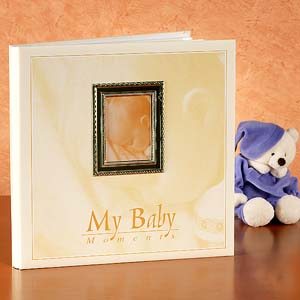 Baby Album with Photo Frame - Photo Frame Gifts