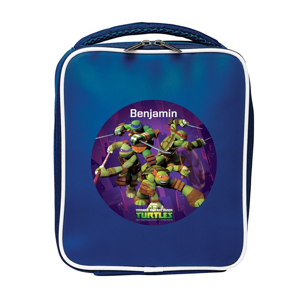 Personalised Teenage Mutant Ninja Turtle Lunch Bag