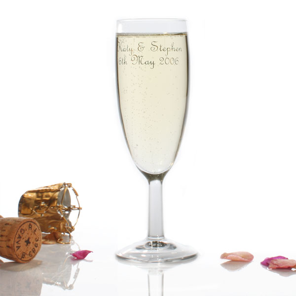 Wedding Toast Glass Pair