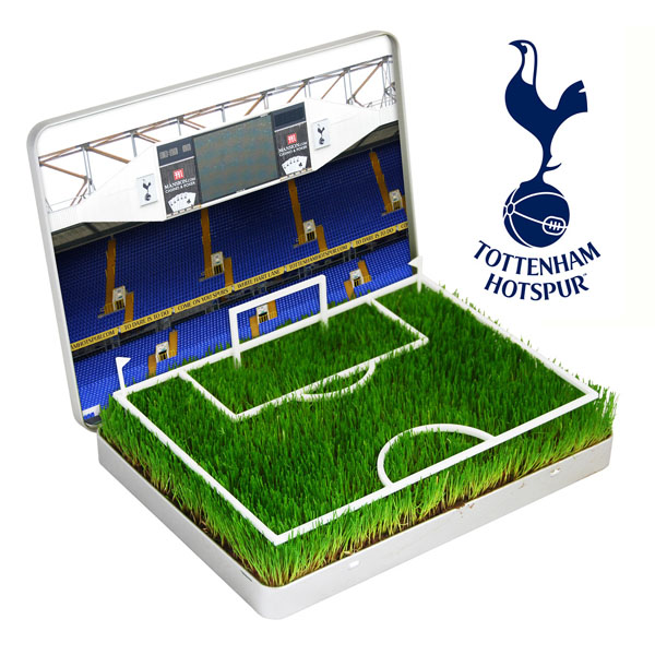 Grow Your Own Mini Football Pitch Tottenham - Tottenham Gifts