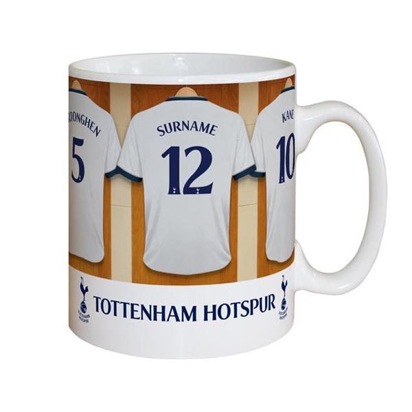 Personalised Tottenham Hotspur Dressing Room Mug - Tottenham Hotspur Gifts