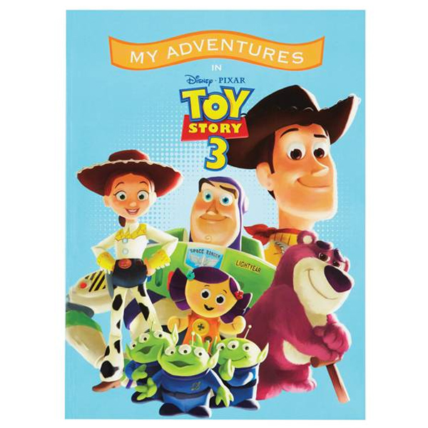 Disney's Toy Story 3 Personalised Adventure Book - Toy Story 3 Gifts