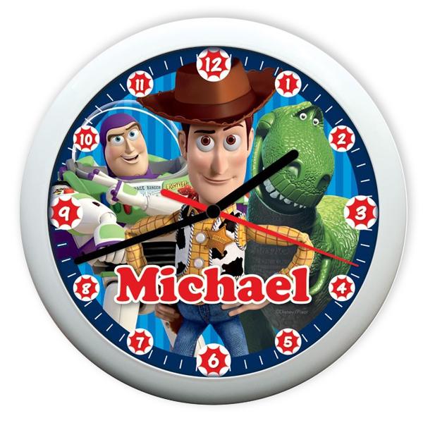Personalised Disney Pixar Toy Story 3 Heroes Clock - Toy Story 3 Gifts