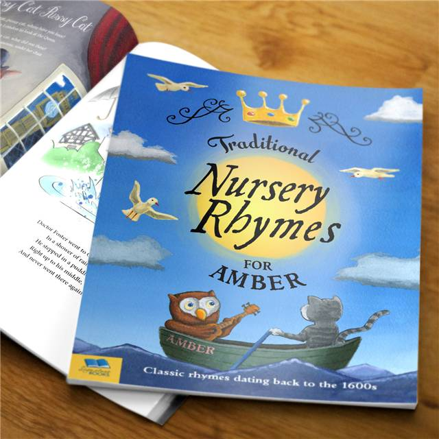 Traditional Nursery Rhymes Book Traditional Nursery Rhymes - Hardback - Nursery Gifts
