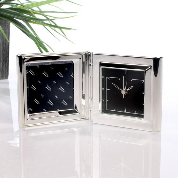 Personalised Travel Alarm Clock & Frame - Alarm Clock Gifts