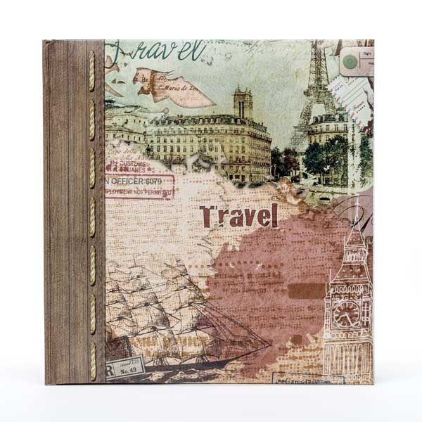 Travel and Discovery Photo Album - Travel Gifts