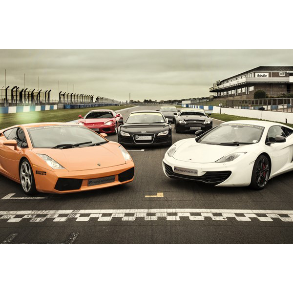 Fantastic Four Supercar Driving Thrill At Top Uk Race Circuits