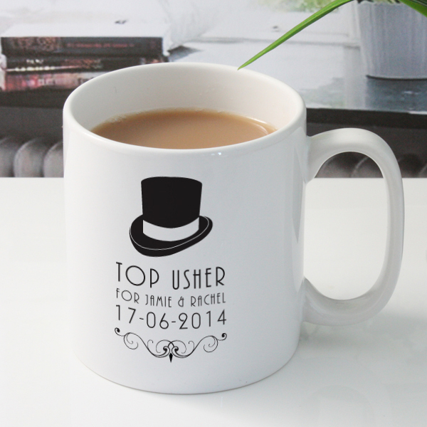 Personalised Usher Mug