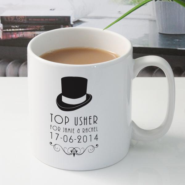 Personalised Usher Mug