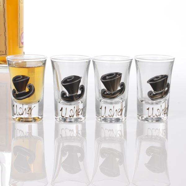 Usher Shot Glasses - Shot Glasses Gifts