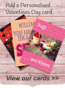 Personalised Valentines Day Cards