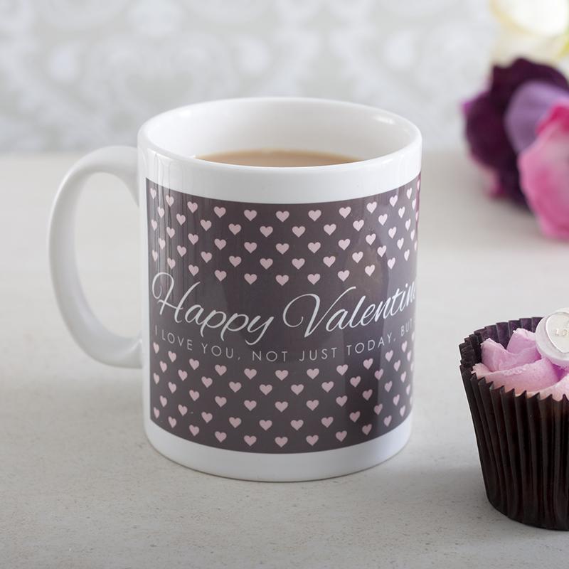 Personalised Happy Valentines Day Mug
