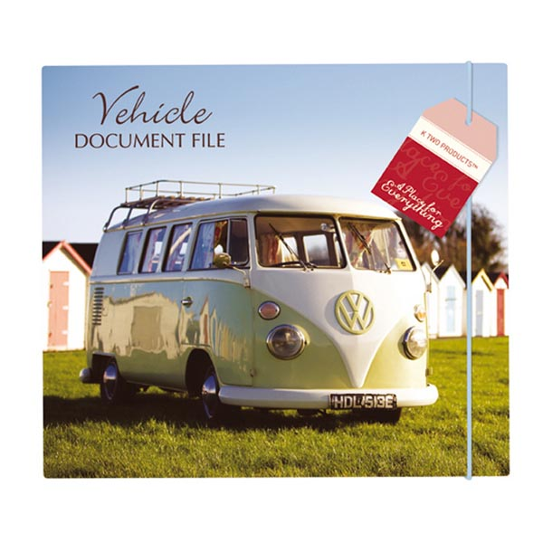 Vehicle Document File - 30th gift