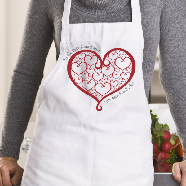 We Love Our Nanna Personalised Apron
