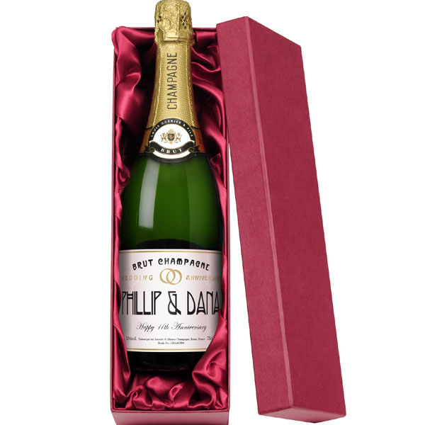Personalised Champagne Bottle Gift
