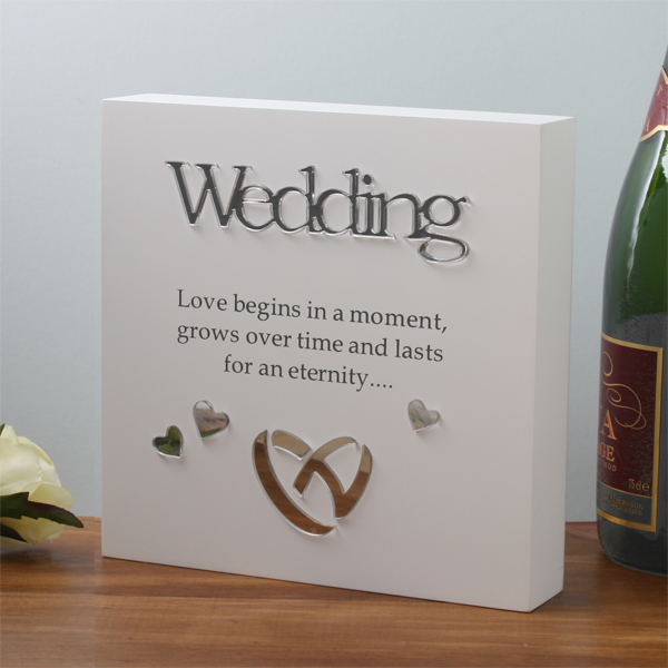 Wedding Sentiment Block-Art - Wedding Gifts
