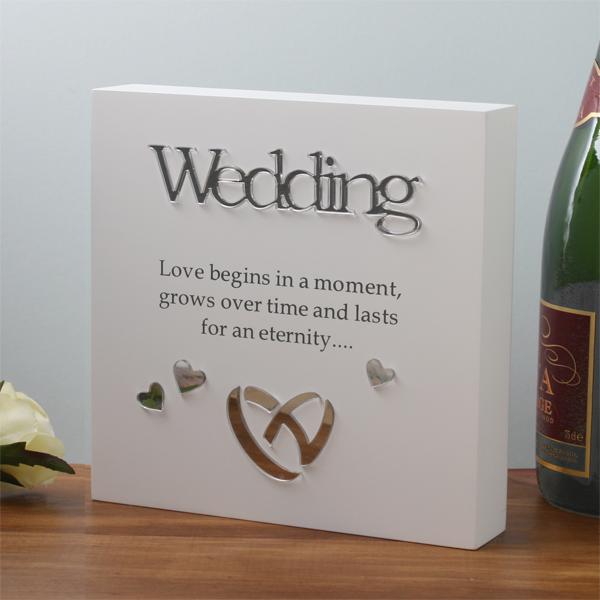 Wedding Sentiment Block-Art - Wedding Gifts