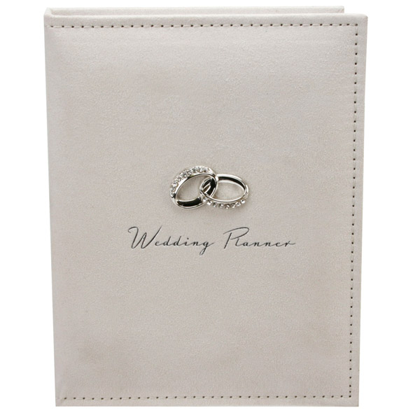 wedding planner with entwined rings