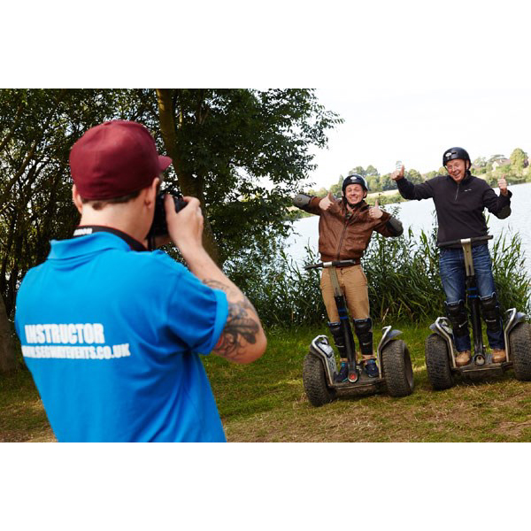Segway Rally for Two with Photo Special Offer - Segway Gifts