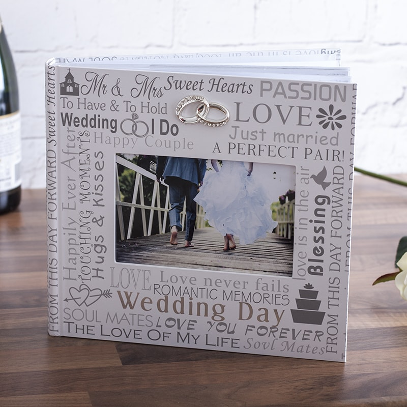 The Gift Experience Wedding Day Photo Album 6x4