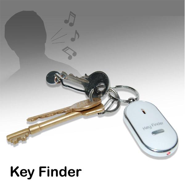 Whistle Key Finder Keyring