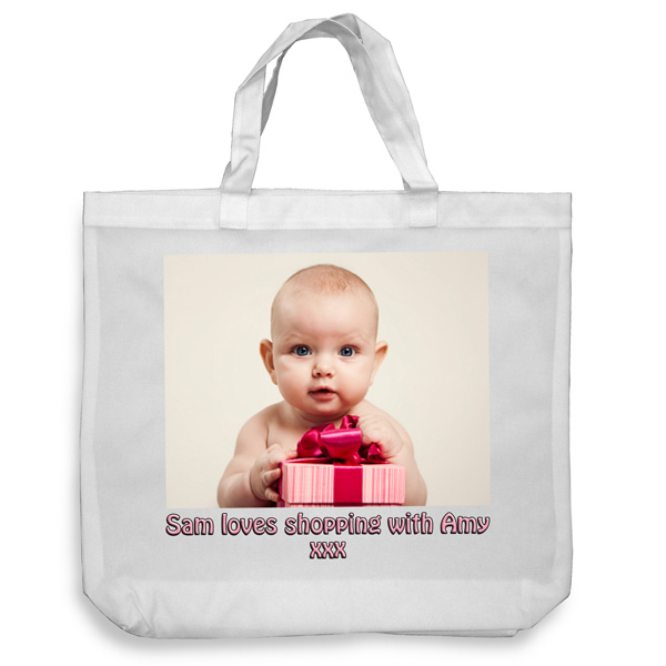 Personalised Shoulder Tote Bag
