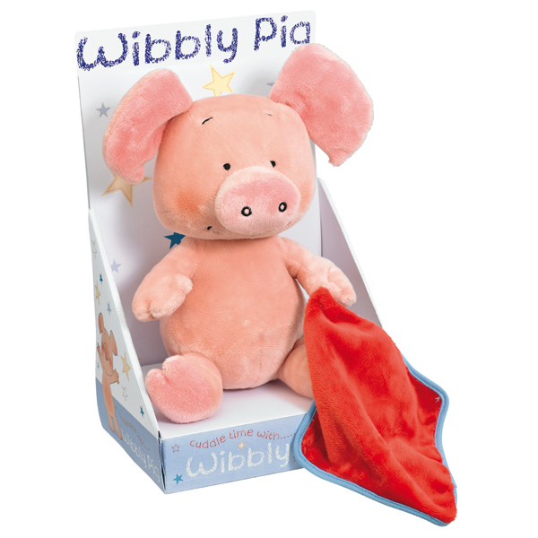 Wibbly Pig with Blanket - Pig Gifts