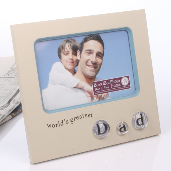 World's Greatest Dad Bubble Frame - Dad Gifts