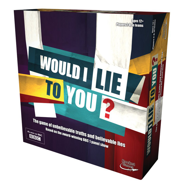 Would I Lie To You? Board Game - Board Game Gifts