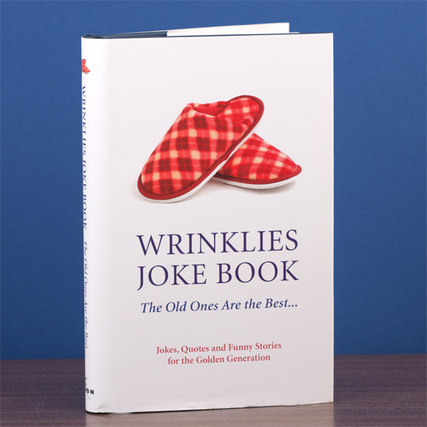 Wrinklies Joke Book - Joke Gifts
