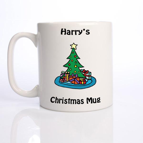 Personalised Christmas Mug  Christmas Tree