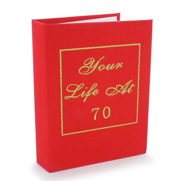 Your Life At 70 Photo Album - 70th Birthday Gifts