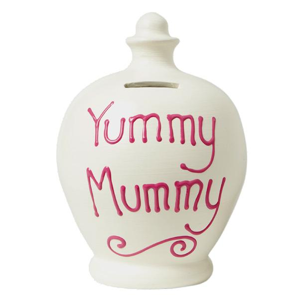 Yummy Mummy Personalised Terramundi Money Pot - Money Gifts