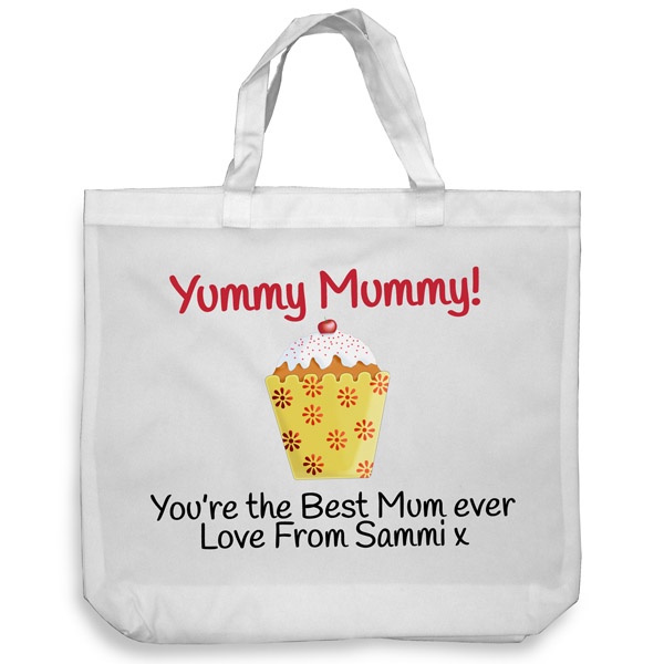 Yummy Mummy Tote Shopping Bag
